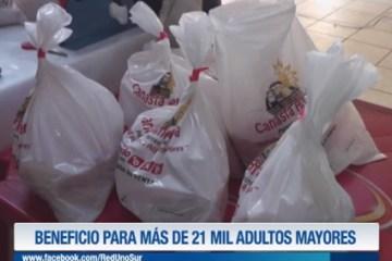 BENEFICIO PARA MÁS DE 21 MIL ADULTOS MAYORES