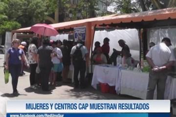 MUJERES Y CENTROS CAP MUESTRAN RESULTADOS