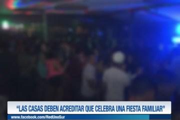 """""""LAS CASAS DEBEN ACREDITAR QUE CELEBRA UNA FIESTA FAMILIAR"""""""