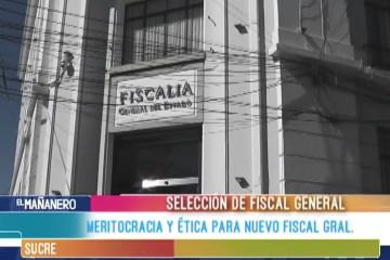 """""""FISCAL GRAL. SERÁ FUNCIONAL AL GOBIERNO"""""""