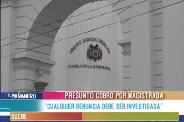 """""""CUALQUIER DENUNCIA DEBE SER INVESTIGADA"""""""