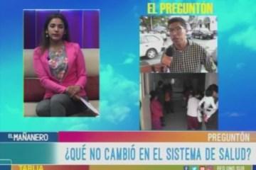 EL PREGUNTÓN: DIFICULTADES EN EL SISTEMA DE SALUD