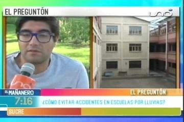 TEMA DEL DÍA: UNIDADES EDUCATIVAS EN RIESGO DE COLAPSAR