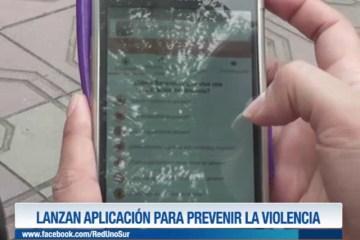 LANZAN APLICACIÓN PARA PREVENIR LA VIOLENCIA