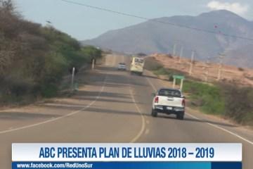 ABC PRESENTA PLAN DE LLUVIAS 2018-2019