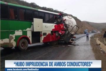"""""""HUBO IMPRUDENCIA DE AMBOS CONDUCTORES"""""""