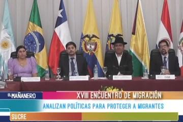 ANALIZAN POLÍTICAS DE PROTECCIÓN A MIGRANTES
