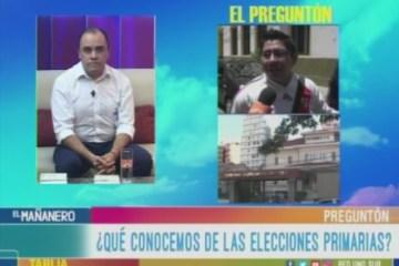 EL PREGUNTÓN: ELECCIONES PRIMARIAS