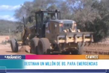 ANUNCIAN 1 MILLÓN DE BS PARA EMERGENCIAS