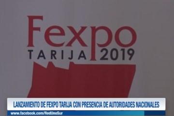 LANZAMIENTO DE FEXPO TARIJA CON PRESENCIA DE AUTORIDADES NACIONALES.