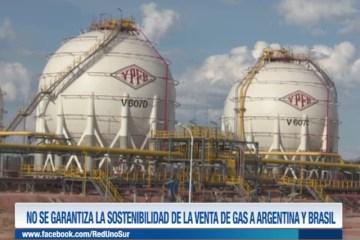 NO SE GARANTIZA LA SOSTENIBILIDAD DE LA VENTA DE GAS