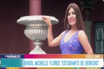 CHICA UNO TARIJA: GHISEL MICHELLE FLORES