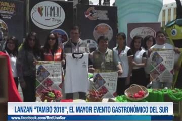"""LANZAN """"TAMBO 2018"""", EL MAYOR EVENTO GASTRONÓMICO DEL SUR"""