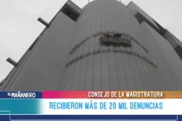 RECIBIERON MÁS DE 20 MIL DENUNCIAS