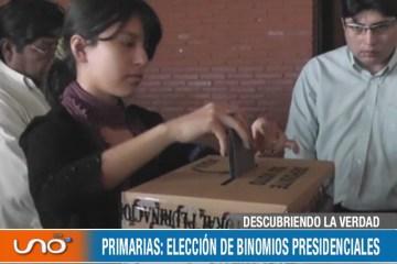 DESCUBRIENDO LA VERDAD: ELECCIONES PRIMARIAS EN ENERO DE 2019