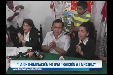 """""""LA DETERMINACIÓN ES UNA TRAICIÓN A LA PATRIA"""""""