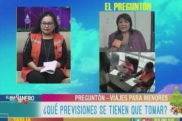 EL PREGUNTÓN: PERMISOS PARA VIAJE EN ESTAS VACACIONES