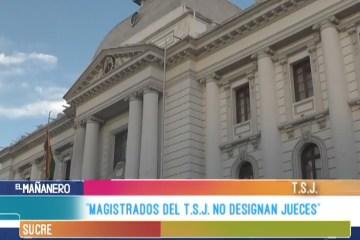 """""""MAGISTRADOS DEL T.S.J. NO DESIGNAN JUECES"""""""