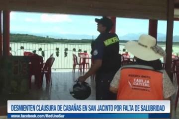 DESMIENTEN CLAUSURA DE CABAÑAS EN SAN JACINTO POR FALTA DE SALUBRIDAD