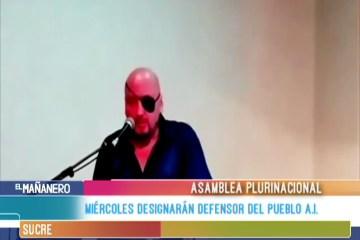 El MIÉRCOLES DESIGNARÁN DEFENSOR DEL PUEBLO A.I.