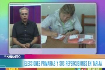 TEMA DEL DÍA: ELECCIONES PRIMARIAS Y SUS REPERCUSIONES EN TARIJA