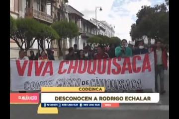EN CODEINCA DESCONOCEN A RODRIGO ECHALAR