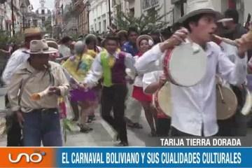 TARIJA TIERRA DORADA: CARNAVAL 2019 EN BOLIVIA