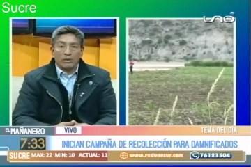 TEMA DEL DÍA: CAMPAÑA SOLIDARIA PARA DAMNIFICADOS POR DESASTRES