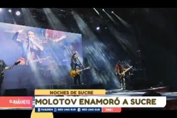 NOCHES DE SUCRE: CONCIERTO DE MOLOTOV