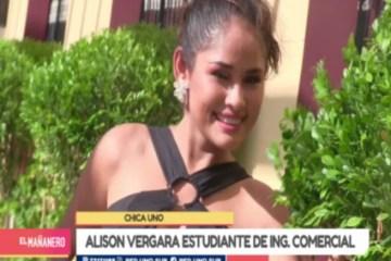 CHICA UNO TARIJA: ALISON VERGARA