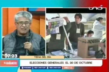 TEMA DEL DÍA: ELECCIONES EL PRÓXIMO 20 DE OCTUBRE