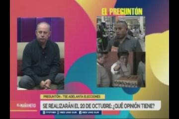 EL PREGUNTÓN: TSE ADELANTA ELECCIONES DE 2019