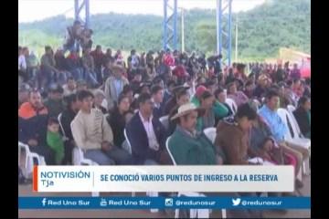 SE CONOCIÓ VARIOS PUNTOS DE INGRESO A LA RESERVA