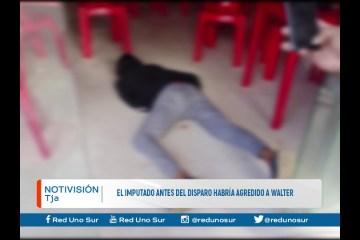 EL IMPUTADO ANTES DEL DISPARO HABRÍA AGREDIDO A WALTER