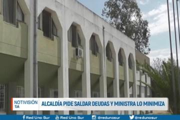 ALCALDÍA PIDE SALDAR DEUDAS Y MINISTRA LO MINIMIZA