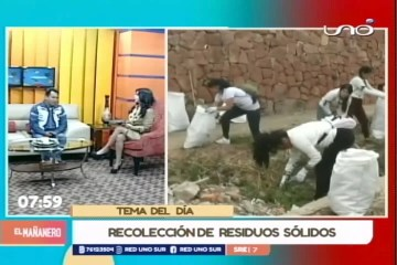 TEMA DEL DÍA: RECOLECCIÓN DE RESIDUOS SÓLIDOS