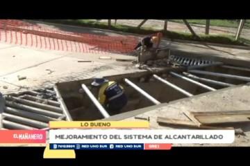 LO BUENO: MEJORAMIENTO DEL SISTEMA DE ALCANTARILLADO