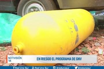 EN RIESGO EL PROGRAMA DE GNV