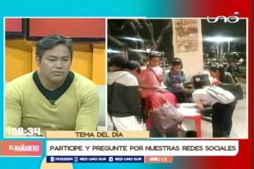TEMA DEL DÍA: INICIAN RECOLECCIÓN DE FIRMAS PARA LA CIDH