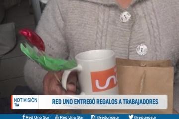 LA RED UNO ENTREGÓ REGALOS A LOS TRABAJADORES