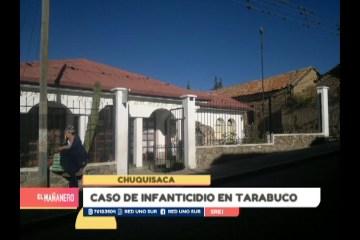 CASO DE INFANTICIDIO EN TARABUCO