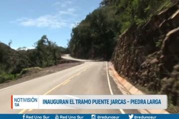 INAUGURAN EL TRAMO PUENTE JARCAS – PIEDRA LARGA