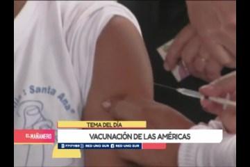 TEMA DEL DÍA: SEMANA DE VACUNACIÓN DE LA AMÉRICAS