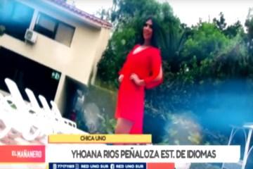CHICA UNO TARIJA: YHOANA RIOS PEÑALOZA