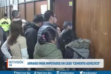 """ARRAIGO PARA IMPUTADOS EN CASO """"CEMENTO ASFALTICO"""""""