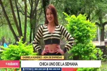 CHICA UNO TARIJA: GABRIELA HUMEREZ