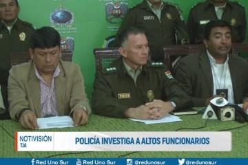 POLICÍA INVESTIGA A ALTOS FUNCIONARIOS DEL VERDE OLIVO