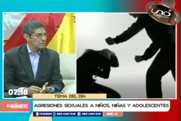 TEMA DEL DÍA: AGRESIONES SEXUALES A NIÑAS, NIÑOS Y ADOLESCENTES