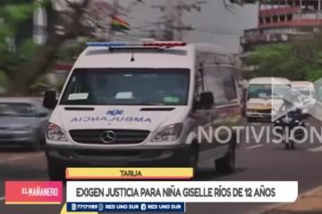 EXIGEN JUSTICIA PARA NIÑA GISELLE RÍOS DE 12 AÑOS