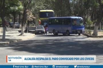 ALCALDÍA RESPALDA EL PARO CONVOCADO POR LOS CÍVICOS